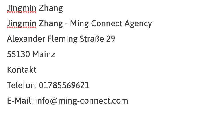 Ming Connect