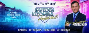 Banner Sweden Kizomba Festival 2019